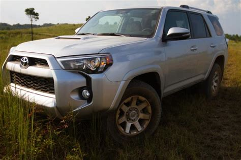 rugged suv with gas mileage 2014 toyota 4runner aggressive exterior complements rugged reliability of mid size suv