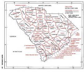 the usgenweb archives project south carolina maps