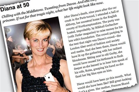 Newsweek Diana At 50 by Diana At 50 Diana My Princess
