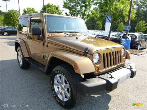 2011 Bronze Star Jeep Wrangler Sahara 70th Anniversary 4x4