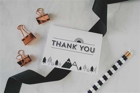 Avery Thank You Card Template by Printable Thank You Cards Green Wedding Shoes Weddings