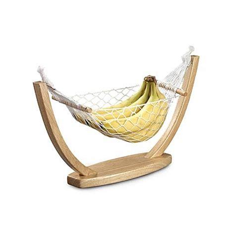 Banana Hammock Kitchen by Prodyne Beechwood Fruit Vegetable Hammock Bed Bath