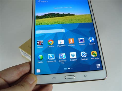 Tablet Samsung S5 samsung galaxy tab s 8 4 unboxing amoled