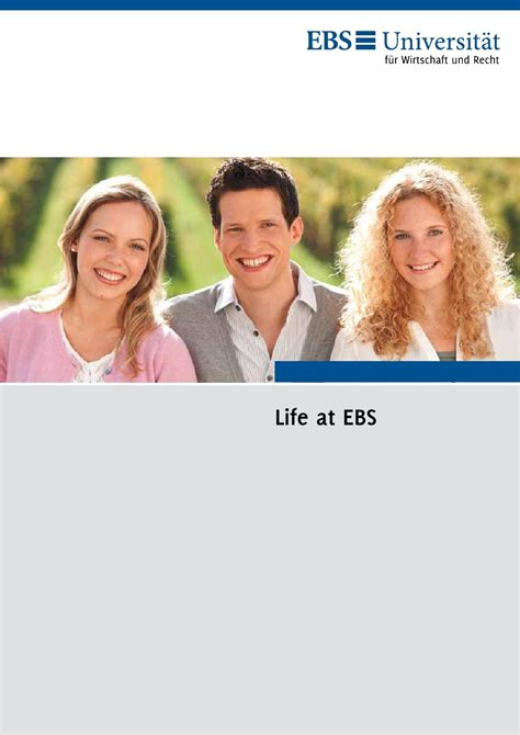 Ebs Mba Login by At Ebs 2014 By Ebs Universit 228 T Issuu