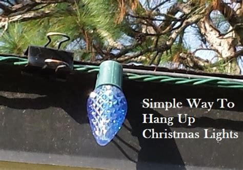 hanging outdoor christmas lights hooks 10 christmas decoration hanging hacks how to hang your
