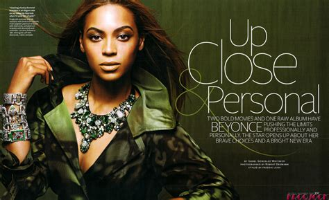 Beyonce On The Cover Of Instyle Magazine by Beyonce Knowles Does Instyle Magazine In November 2008