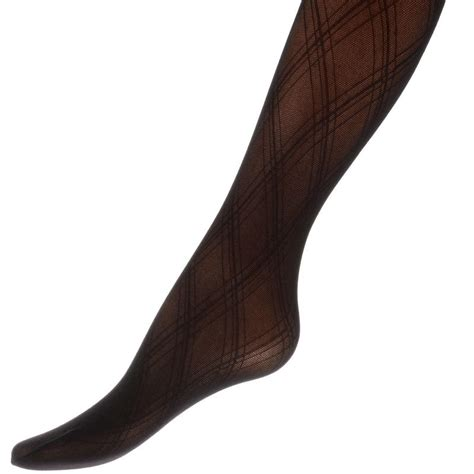 brown patterned tights uk opaque fashion tights with diamond pattern black or brown