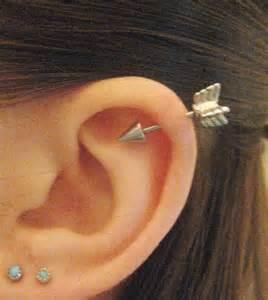 cartilage earrings arrow cartilage earring industrial barbells cartilage earrings arrows