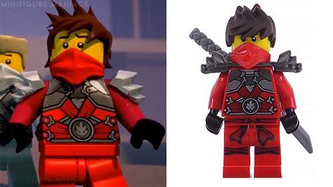 Lego Ninjago Vs lego ninjago minifigure vs tv show