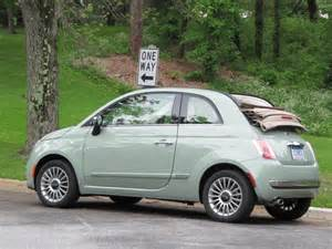Fiat Nyc Parking 2012 Fiat 500c Cabrio Drive