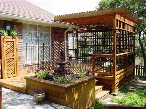 outdoor outdoor privacy screen ideas galvanized tubs