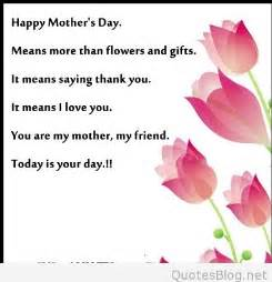 mothers day sms ideas