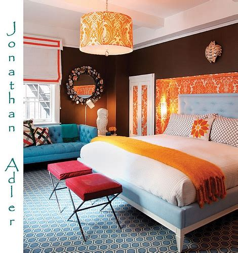 Blue And Orange Bedroom Decor by 17 Best Ideas About Blue Orange Bedrooms On