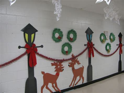 christmas decorations for school december 2011