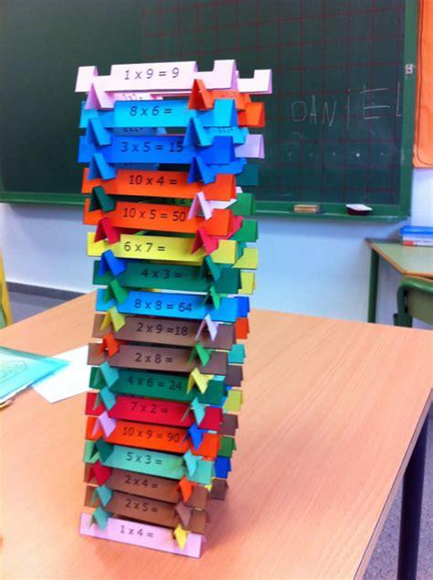 tablas de multiplicar juego para el aula torres de multiplicar un juego para aprender las tablas