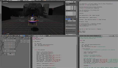 python tutorial blender game engine blender game engine ps4 controller python free vr ar