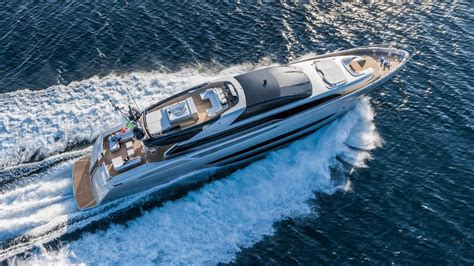 riva biggest yacht riva s first aluminium and largest yacht sol superyachts