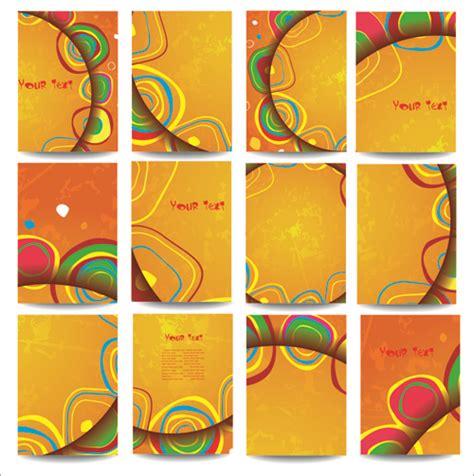 folder cover design vector free download notebook binder cover template free vector download