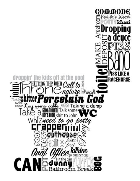 words for bathroom 1000 images about home decor word art on pinterest