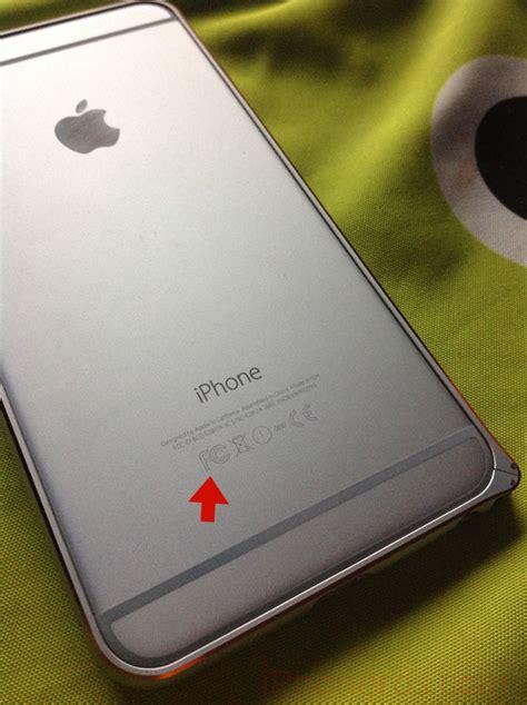 la marca regulatoria de la fcc s 237 se ha utilizado en el iphone 6 en iphoneros