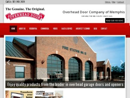 overhead door tn overhead door company garage doors automatic garage
