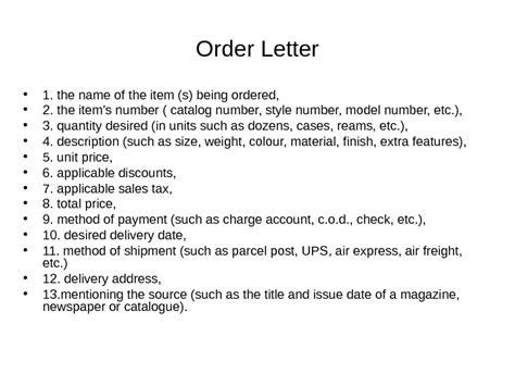 Purchase Order Number Letter Order Letter A Purchase Order An Order Form