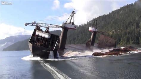 un barco youtube as 237 se descargan los troncos de un barco youtube