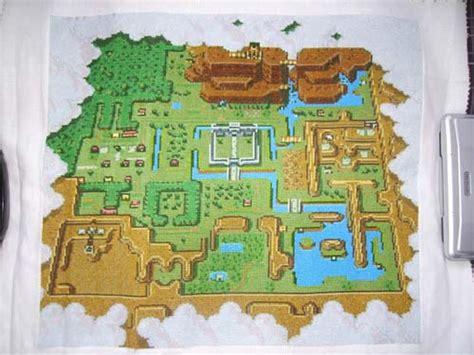 legend of zelda map cross stitch cross stitch zelda map wonderland