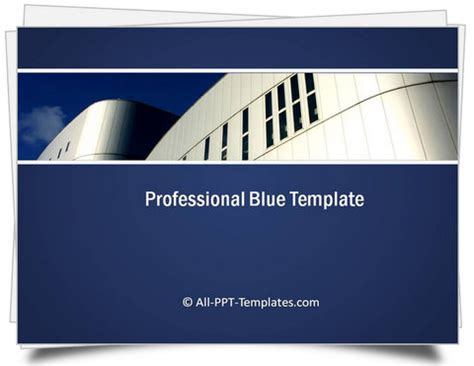 professional ppt templates powerpoint professional blue template