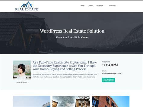 estateagent free wordpress theme 20 best free wordpress real estate themes dartthemes