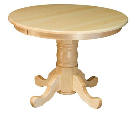 42 Pedestal Dining Table 42 Quot Pedestal Dining Table Single Pedestal Table Amish Furniture Factory