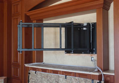 swing down tv mount cello custom products swing out tv mount