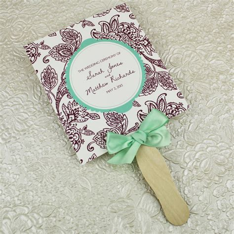 wedding program paddle fan template free wedding program paddle fan template matelasse design