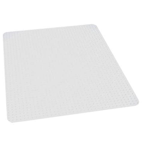 Home Depot Chair Mat es robbins performance clear 46 in x 60 in carpet vinyl