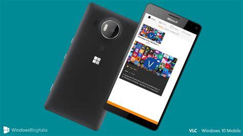 vlc mobil della nuova app vlc per windows 10 mobile