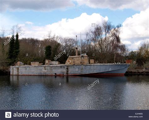 boat sale exeter old motor torpedo boat on the exeter canal devon uk