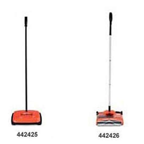 Non Motorized Carpet Sweeper by Stick Amp Sweeping Vacuums At Global Industrial