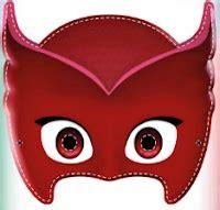 printable owlette mask 8 21 16 8 28 16 my okc mommy