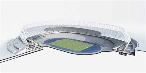 Schlaich Bergermann Und Partner olympic stadium kiev ukraine football ground e architect