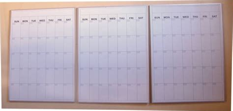 Calendar Board For Calendar Erase Boards By Billyboards