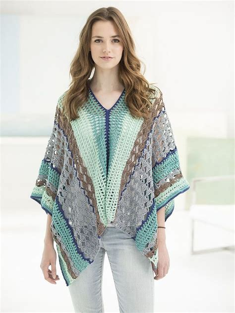 free patterns poncho flatter your figure with these free crochet poncho patterns