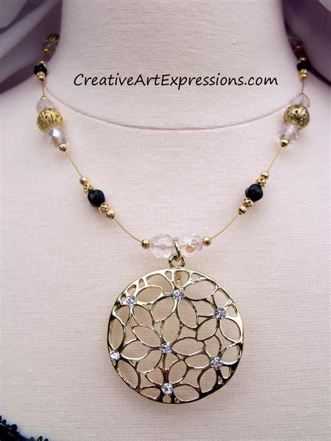 Creative Handmade Jewelry - creative expressions handmade gold black