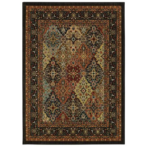 home depot mohawk area rugs mohawk home karastan studio wanderlust keil multi 5 3 ft x 7 8 ft area rug 000675 the home depot