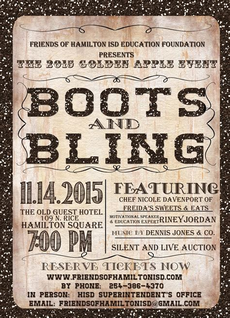 boots and bling boots and bling tickets in hamilton tx united states