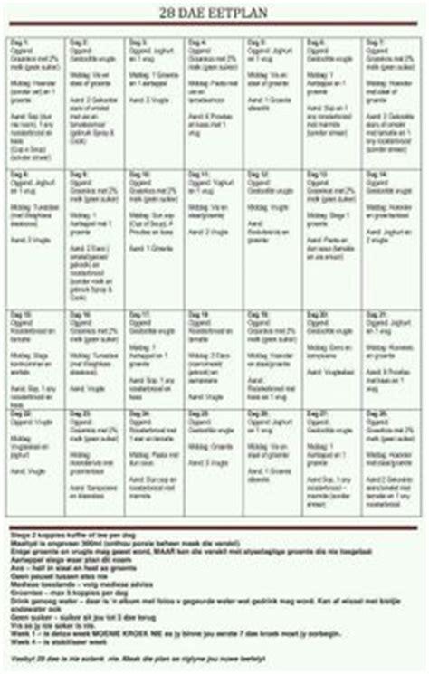 28 Days Detox Diet Plan by 28 Dae Dieet Plan 28 Dae Dieet Dieet Plan