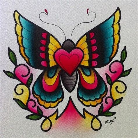 tattoo flash butterfly american traditional butterfly tattoos alexstrangler