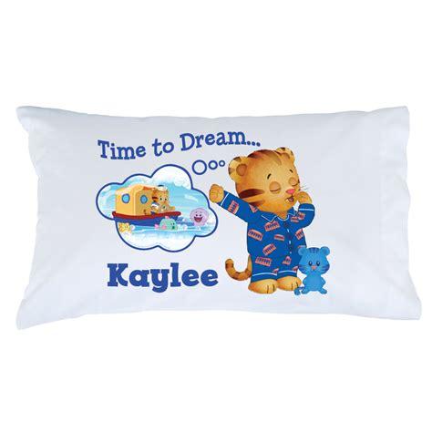 daniel tiger bedding the official pbs kids shop daniel tiger s neighborhood time to dream pillowcase
