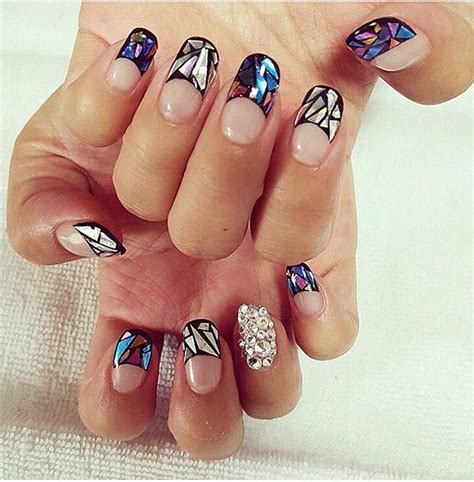 latest nail craze makeup beauty hair skin glass nail art is the latest