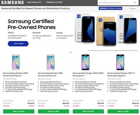 Harga Samsung S7 Refurbished ini daftar seri smartphone samsung yang dijual bekas