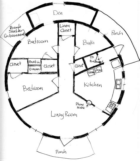round home plans round house plan bale home pinterest round house